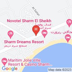 Mappa PYRAMISA SHARM EL-SHEIKH RESORT
