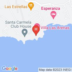 Mappa CALINDA BEACH