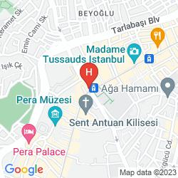 Mappa LASAGRADA HOTEL
