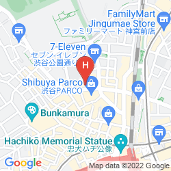 Mappa UNIZO SHIBUYA