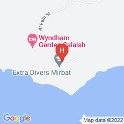 Mappa MIRBAT MARRIOTT RESORT