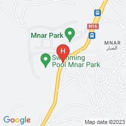 Mappa MNAR CASTLE APARTMENTS