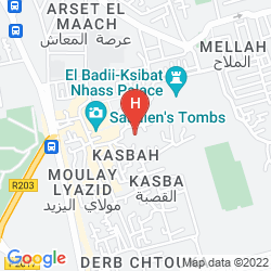 Mappa RIAD DAR MASSAI
