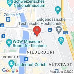 Mappa SORELL HOTEL RÜTLI