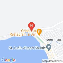Mappa HUMMINGBIRD BEACH RESORT