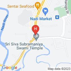 Mappa NADI DOWNTOWN HOTEL