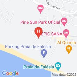 Mappa ALBUFEIRA VILLA FALESIA