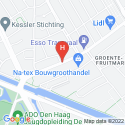 Mappa THE STUDENT HOTEL THE HAGUE