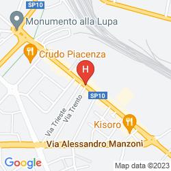 Mappa EURO HOTEL