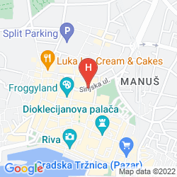 Mappa CORNARO HOTEL