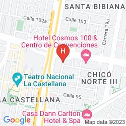 Mappa ATTON BOGOTÁ 100