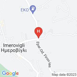 Mappa DOME RESORT SANTORINI