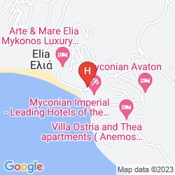 Mappa MYCONIAN AVATON RESORT