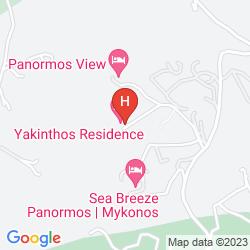 Mappa YAKINTHOS RESIDENCE