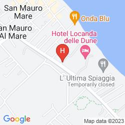 Mappa HAPPY CAMPING VILLAGE