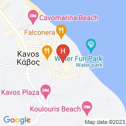 Mappa KONSTANTINA APARTMENTS