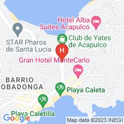 Mappa COSTA LINDA CALETA ACAPULCO