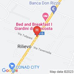 Mappa DIVINO HOTEL