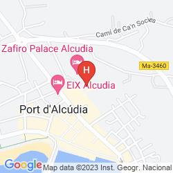 Mappa ZAFIRO PALACE ALCUDIA