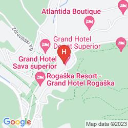 Mappa GRAND HOTEL ROGASKA