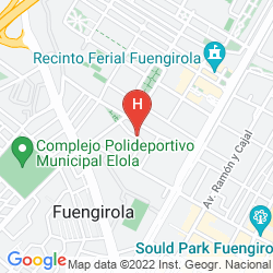 Mappa BEATRIZ & SPA HOTEL