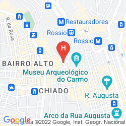 Mappa LISBOA CARMO