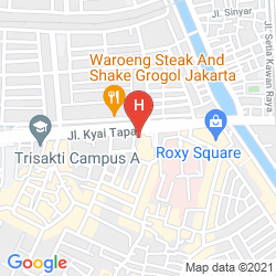 Mappa THE GLORIA SUITES JAKARTA
