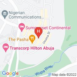 Mappa BERKSHIRE HOTEL MAITAMA