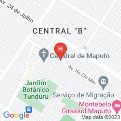 Mappa MAPUTO