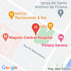 Mappa VIP EXECUTIVE SUITES MAPUTO HOTEL