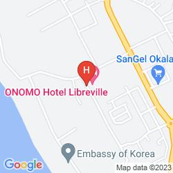 Mappa ONOMO LIBREVILLE