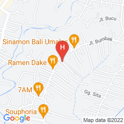 Mappa UPPALA VILLA & SPA UMALAS