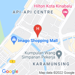 Mappa SKY HOTEL KOTA KINABALU