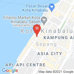 Mappa THE KLAGAN HOTEL