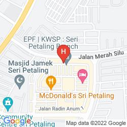 Mappa BEST VIEW HOTEL SRI PETALING