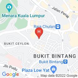 Mappa THE MESUI HOTEL