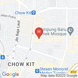 Mappa THE REGENCY HOTEL KUALA LUMPUR