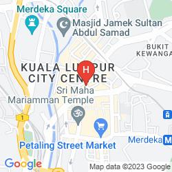 Mappa WINSIN HOTEL CHINATOWN