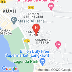 Mappa LANGKAWI SEAVIEW HOTEL