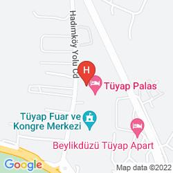 Mappa TUYAP PALAS