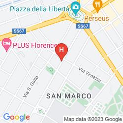 Mappa ATHENAEUM PERSONAL HOTEL