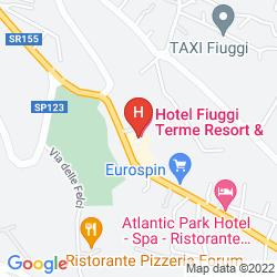 Mappa ATLANTIC PARK HOTEL