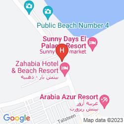 Mappa SUNNY DAYS MIRETTE FAMILY RESORT