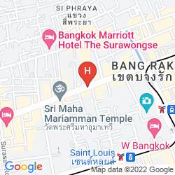 Mappa DIAMOND RESIDENCE SILOM