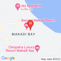 Mappa IBEROTEL MAKADI BEACH