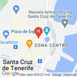 Mappa ADONIS PLAZA