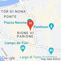 Mappa PIAZZA NAVONA - 2 BEDROOMS APARTMENT
