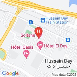 Mappa HOTEL SOLTANE