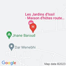 Mappa LES JARDINS D'ISSIL