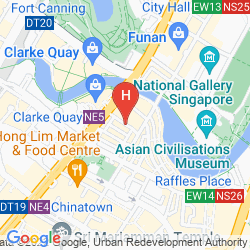 Mappa LE HOTEL CARPENTER STREET